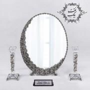 آینه و شمعدان نقره بابک - Babak Silver